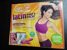 Dance Off the Inches: Latin Party Pack DVD 3-Disc Set W/ Salsa Bars & Guide