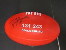 Fitzroy - Kevin Murray (Brownlow winner)  signed HBA mini sherrin football