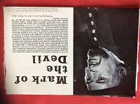 M6-9a ephemera 1970s film preview mark of the devil herbert lom udo kier