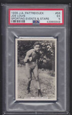 Pattreiouex - Sporting Events & Stars 1935 - Joe Louis - PSA 5 EX