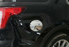 Fit For Ford Explorer 2011-2016 2017 ABS Chrome Fuel Tank Cover Oil Gas Cap Trim