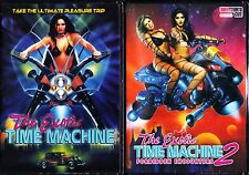 THE EXOTIC TIME MACHINE 1 & 2 (1998/2000) DVD ADULT ENTERTAINMENT REGION FREE
