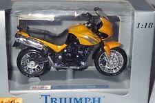 MOTO TRIUMPH TIGER 1/18 MAISTO