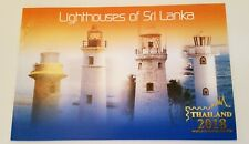 Sri Lanka Lighthouses Booklet with Thailand Logo Overprint.