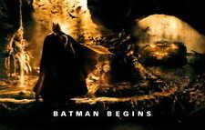 BATMAN BEGINS Movie MINI Promo POSTER R Christian Bale Michael Caine Liam Neeson