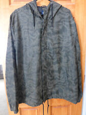 Camo Jacket Mens XL Hood Zipper Snaps NEW Coat