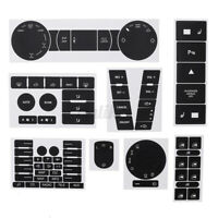 For VW TOUAREG 2004-2009 BUTTON DECALS STICKERS RADIO W NAVIGATION REPAIR