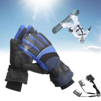 Warmer Heated Handschuhe Ski Motorrad Wasserdicht Batteriebetrieben 4000mAh Akku