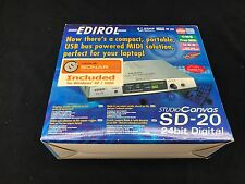 NEW Roland Edirol SD-20 Studio Canvas MIDI module