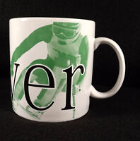 Starbucks Denver City Coffee Mug Cup 1994 Oversize Collector Series