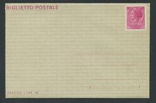 1966 - LOTTO/17054 - REPUBBLICA - BIGLIETTO POSTALE 40 LIRE - NUOVO