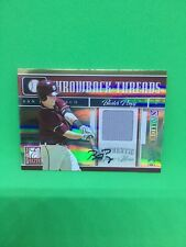 Buster Posey 2008 Throwback Threads Auto Relic