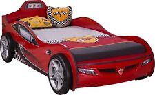 Kinder-Bettgestelle ohne Matratze mit Rennwagen