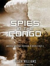Spies in the Congo: World War II by Susan Williams MP3 CD Unabridged New