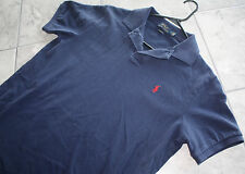 Polo Ralph Lauren Basic Navy Mens Large Shirt with Red Pony HIGH QUALITY