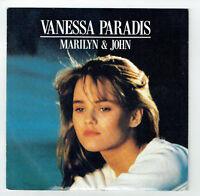 "Vanessa PARADIS Disque 45 tours 7"" SP  MARILYN & JOHN - SOLDAT - POLYDOR 887640"