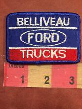 Vtg BELLIVEAU FORD TRUCKS Patch Truck C89U