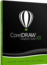 CorelDRAW X8 Graphics Suite 2018✔️Lifetime Fast Dispatch