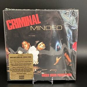 Boogie Down Productions Criminal Minded Elite Edition Boxset Rare SEALED OOP
