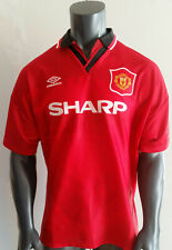 Manchester United Trikot | ManU | Umbro | Sharp | Jersey | Red Devils | Red Army