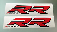 New S1000RR logo Decals / Stickers for BMW S1000RR (Pair) (Any Colour)