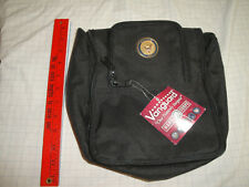 US NAVY MAKE-UP PURSE, SHAVING KIT BAG, TRAVEL POUCH, NEW WITH TAGS, BLACK