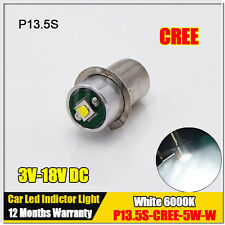 P13.5S 5W CREE MAGLITE LED UPGRADE FLASHLIGHT BULB 200LM 4 6 12 18V DC MAG LIGHT