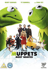 MUPPETS MOST WANTED - DVD - REGION 2 UK