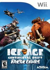 Ice Age: Continental Drift - Arctic Games GAME NINTENDO Wii **FREE SHIPPING!!