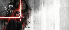 GUERRE STELLARI STAR WARS THE LAST JEDI THEATRICAL TEXTLESS POSTER HAMILL RIDLEY