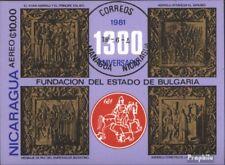 Nicaragua Bloque 139 (edición completa) usado