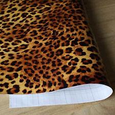 Leopard Design Wallpaper PVC Vinyl Waterproof Mural Wall Sticker Decor 45cmx10m