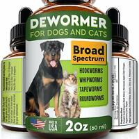 Pawesome Dewormer For Dogs And Cats - Made In Usa Broad Spectrum Worm Treatment