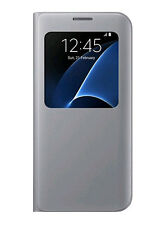 Flip Cover Custodia S-view Samsung per Galaxy S7 Edge Ef-cg935ps