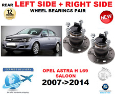 FOR OPEL ASTRA H REAR WHEEL BEARING L69 SALOON LEFT + RIGHT SIDE PAIR 2007->2014