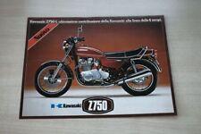 193533) Kawasaki Z 750 L - Z 900 750 400 - Italien - Prospekt 1975