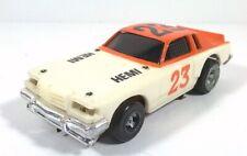 VINTAGE HO SCALE SLOT CAR  DODGE MAGNUM 440 HEMI 1977 IDEAL TCR SLOT CAR CLEAN!