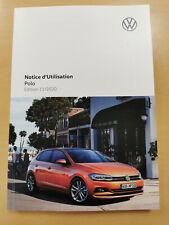 VW POLO 2021 Notice d´Utilisation français (Édition 11.2020) *Nouveau*