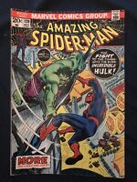 AMAZING SPIDER-MAN #120 (1973) KEY ISSUE: Spider-Man vs The Hulk, Around VG-