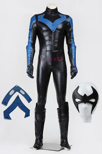 High Quality Halloween Cosplay Night Wing  Costume Full Set Halloween Outfit