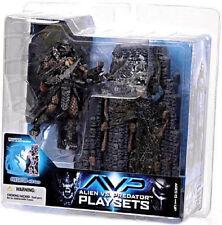 Alien VS Predator 2 Movie Action Scar Predator Playset  McFarlane Toys 2004