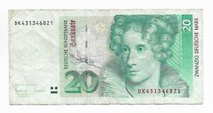 Germany 20 Mark 1993