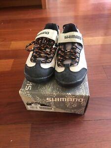 NOS SHIMANO SPD Spin/Road Shoes SH-M036W •Size 36EU, US/22.5cm •2-Bolt