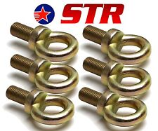 Eyebolt for Racing Harness/Seat Belt Mounting  22mm long  4 point - x6 Pieces