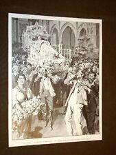 Palermo nel 1905 Madonna di mezz'agosto Cantore delle laudi + Camera 27.07.1905