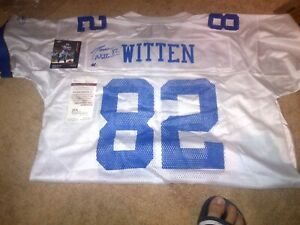 Autographed Jason Witten Dallas Cowboys Jersey- NFL Football