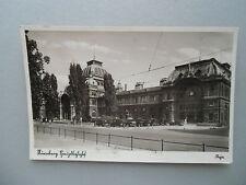 Ansichtskarte Nürnberg Hauptbahnhof 1936