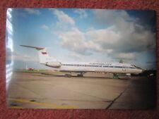 WAYNE CLUITT 1995 PHOTO AVION AIRCRAFT TUPOLEV TU-134A RA-65717 AEROFLOT