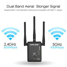Wavlink AC750 Dual Band WiFi Repeater for Signal Booster&Wireless Range Extender