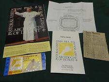 1987 Pope John Paul II Papal Mass Pontiac Silverdome Ticket + Book + Mass Guide